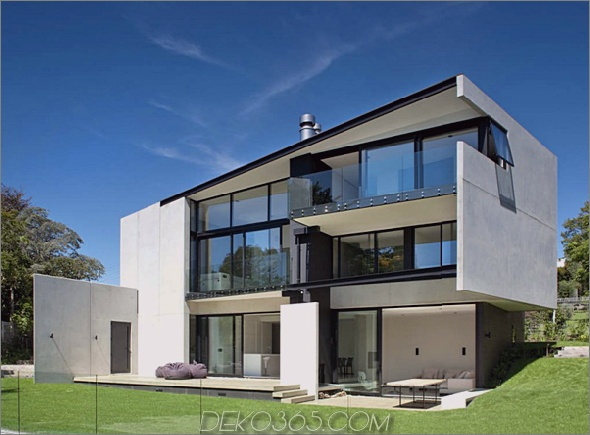 Fertigteil-Betonmauerhaus 1 Fertigteil-Betonmauer-Haus in Neuseeland