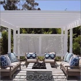 Pergola-Wetter ist keine Sorge 285x285 Feuerstelle Design-Ideen, die Ihren Garten verbessern werden