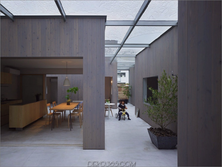Haus in Buzen von Suppose Design Office