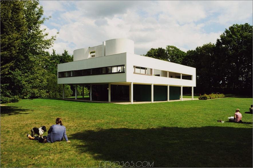 Villa Savoye von Le Corbusier