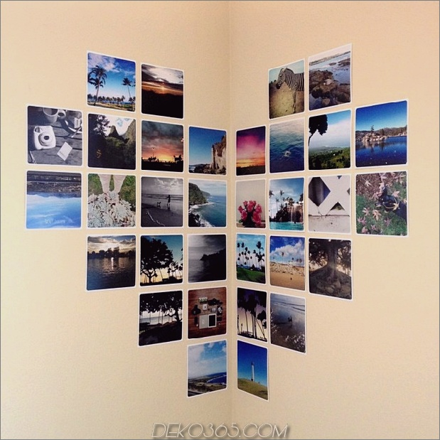 photo wall corner layout thumb 630xauto 55801 Fotowand-Collage ohne Rahmen: 17 Layout-Ideen