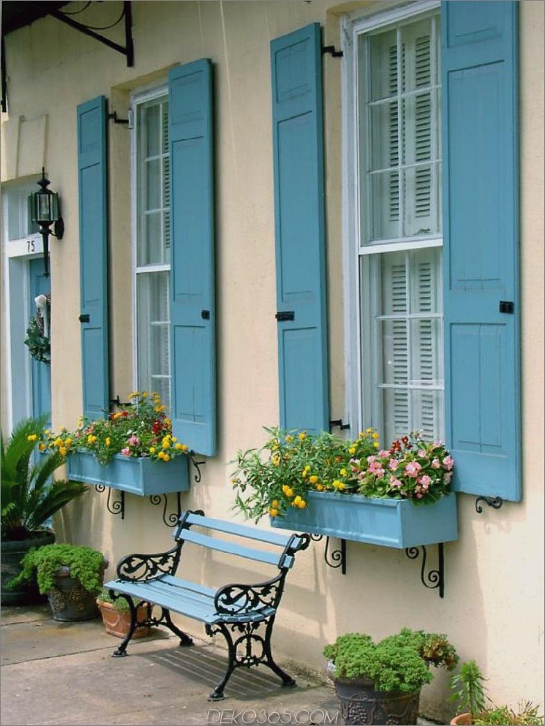 Robin Ei blaue Fensterläden