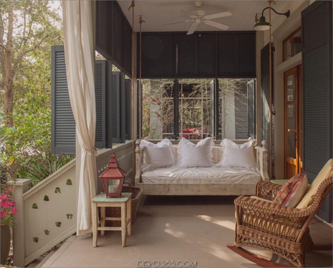 Cottage Porch Fensterläden