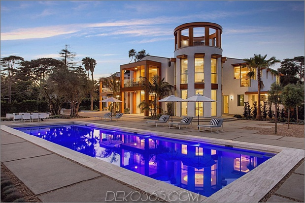 schönes Zuhause in Kalifornien thumb 630xauto 66887 Für 35 Millionen US-Dollar können Sie ein Haus mit Salzwasser-Aquarien in der Wand haben