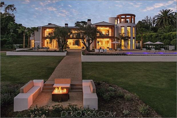 atemberaubende warme Töne an der Außenseite thumb 630xauto 66893 Für 35 Millionen US-Dollar können Sie ein Haus mit Salzwasseraquarium in der Wand haben