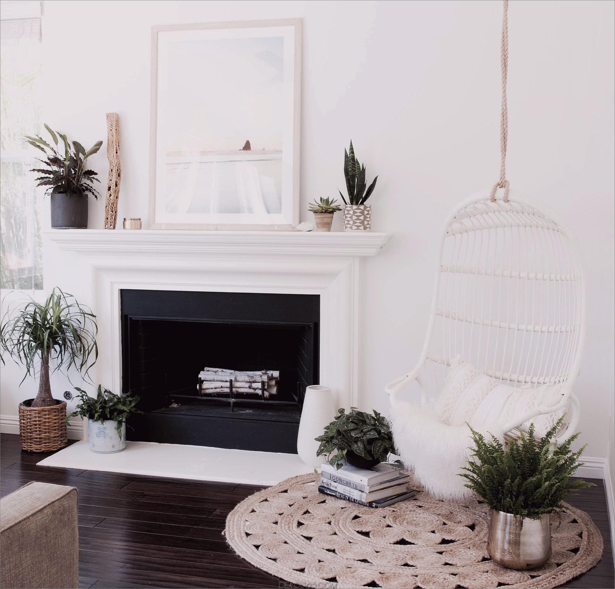 Hängemattenstuhl im Wohnzimmer Geheimnisse zur Maximierung Ihres kleinen Wohnbereichs