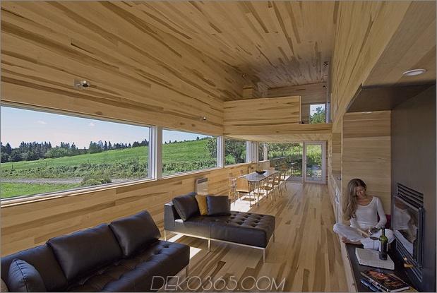 Meerblick pastorale Einstellungen umgeben Schiebehaus-Urlaub-Retreat 1 lebender Daumen 630x422 25530 Gelassene Pappel-Innenräume lassen Sie für immer in diesem Ferienhaus bleiben