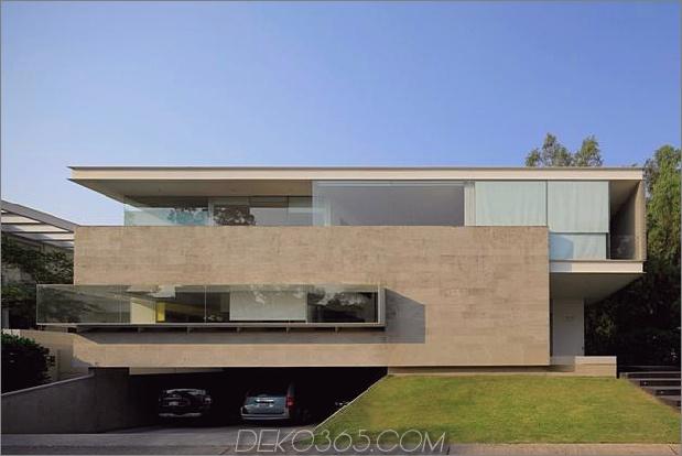 Geometrische Wohnung freitragende Master-Suite mit Blick auf Pool 2 Vorderansicht thumb 630x421 27057 Geometric Home verfügt über eine freitragende Master-Suite mit Blick auf den Pool