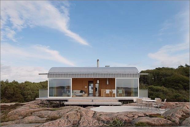 Wellblech-Strandhäuser mit Holzinterieur 1 Vorderseite offener Daumen 630xauto 40237 Wellblech-Strandhäuser mit Holzinterieur