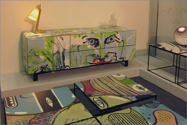 1 Graffiti-Paneele Street Art Projektmöbel thumb 630xauto 57689 Graffiti-Möbel bringen Street Art in Ihr Zuhause