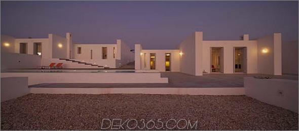 Griechische Luxusvilla bringt drinnen draußen 1 Griechische Luxusvilla bringt drinnen das Leben in die Natur
