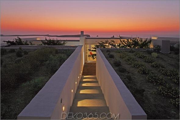 griechische Luxusvilla bringt drinnen draußen 2 Griechische Luxusvilla bringt drinnen das Leben in die Natur