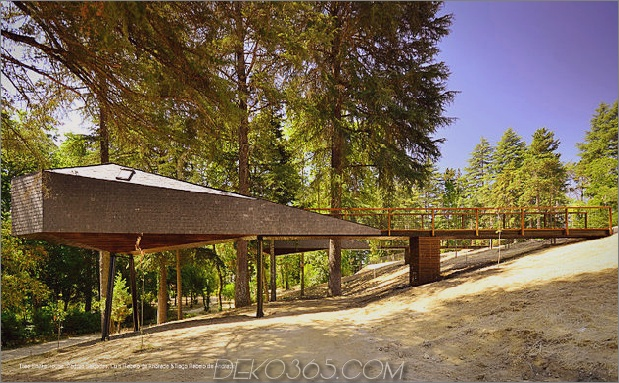 spektakuläre baumschlangenhäuser 1 thumb 630x389 15471 Spektakuläre Baumschlangenhäuser in Pedras Salgadas, Portugal
