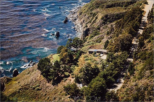spektakuläres haus aus glas und kupferfelsen in big sur california 2 thumb 630x420 20644 Spektakuläres haus aus glas und kupferklippen in Big Sur, Kalifornien