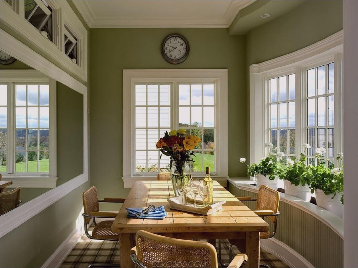 grüne Frühstücksecke grüne Küchen, die Sie neidisch machen