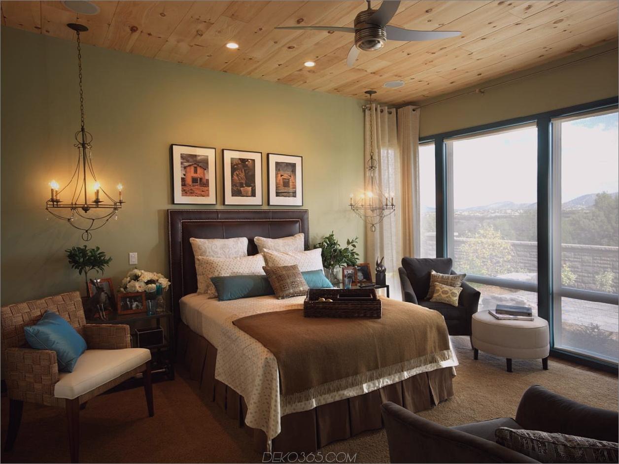 rustikale grüne Schlafzimmer Grüne Schlafzimmer Ideen, die den Raum auffrischen
