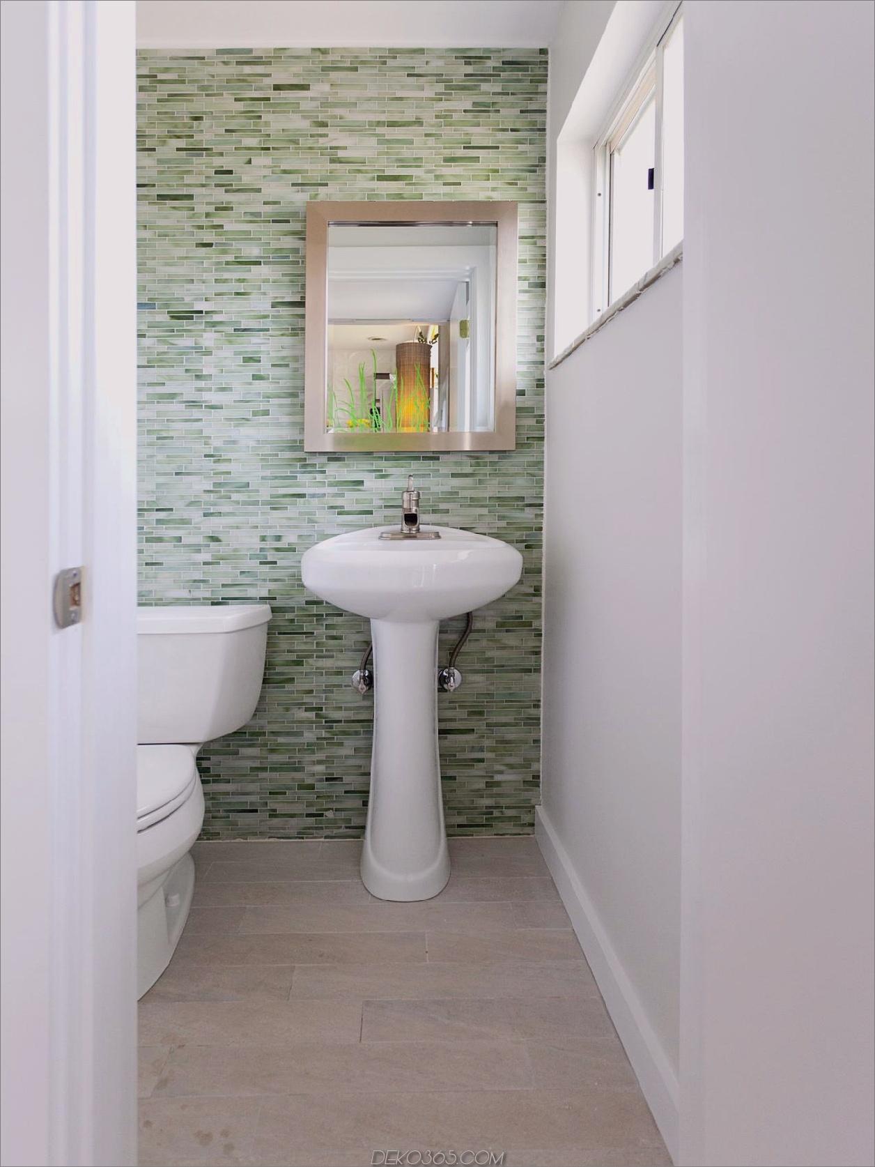 Badezimmerfliesen Grüner Marmor ist der neueste Trend, den Sie lieben werden