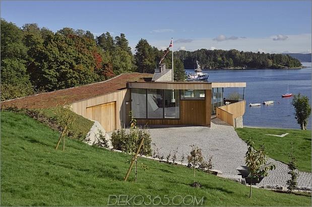 2-stöckiges Haus am Hang mit grünem Dach direkt am Meer 1 Standort thumb 630xauto 47792 Das grüne Dach verbindet Strandhaus mit Land