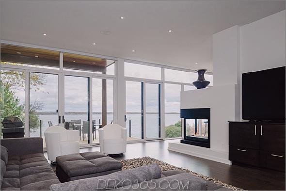 Haus im zeitgenössischen Stil mit Glaswänden, Flussuferblick, 3.jpg