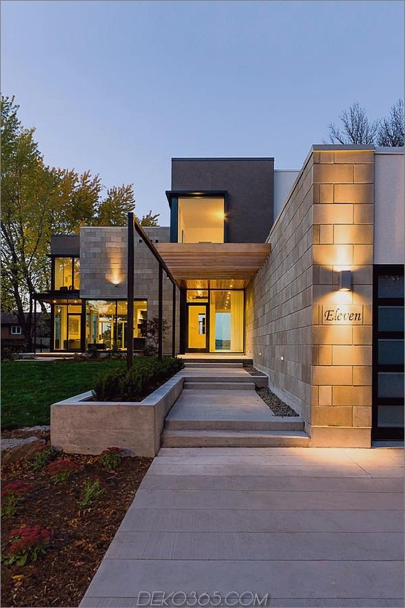 Haus im zeitgenössischen Stil mit Glaswänden, Flussuferblick, 8.jpg