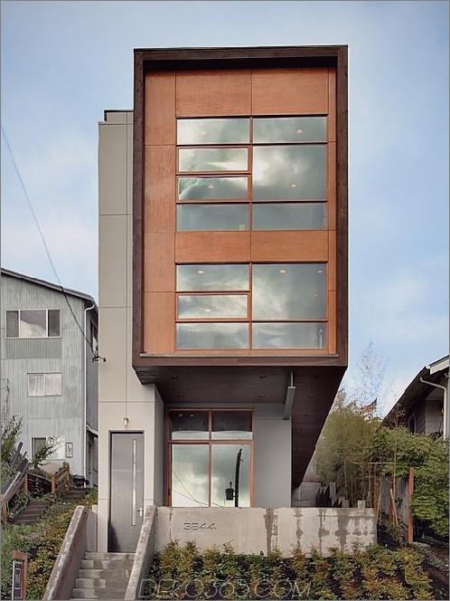 Mount Baker Residence 1 Haus im zeitgenössischen Stil mit Dachterrasse in Mount Baker, Seattle