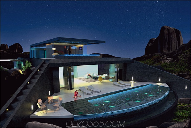 Home Infinity Pool Glasboden Pool gerendert 3d 1 social thumb 630xauto 43486 Haus mit Infinity-Pool und Glass Bottomed Pool In 3D gerendert