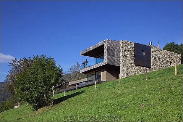 Haus mit Sauna Gründach 1 unten Winkel 630x419 25011 Haus mit Sauna und Gründach