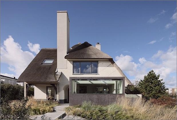 Haus mit Strohüberdachung 2 Vorderer gerader Daumen 630x429 28653 Haus mit Strohüberdachung