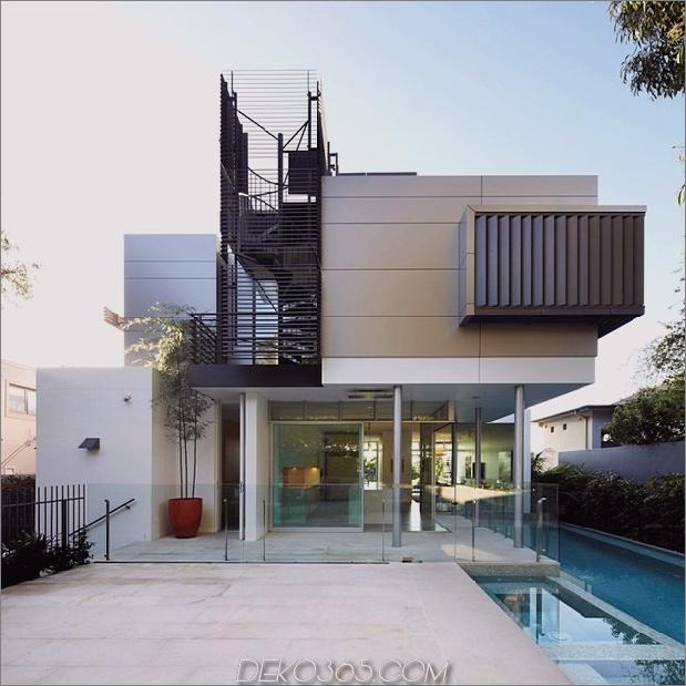 australisches Haus mit Wendeltreppe zum Dachdeck 1 thumb 630xauto 35538 Haus mit Wendeltreppe im Freien zum Dachdeck