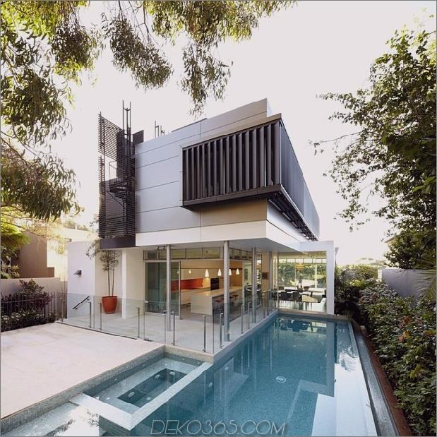 australisches Haus mit Wendeltreppe zum Dachdeck 2 thumb 630xauto 35540 Haus mit Wendeltreppe im Freien zum Dachdeck