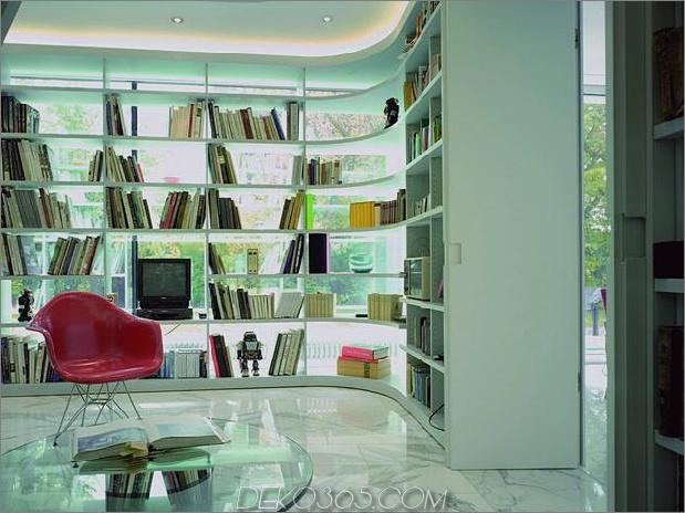 Haus mit zweistöckiger Glasbibliothek 7 thumb 630xauto 34679 Haus mit zweistöckiger Glasbibliothek