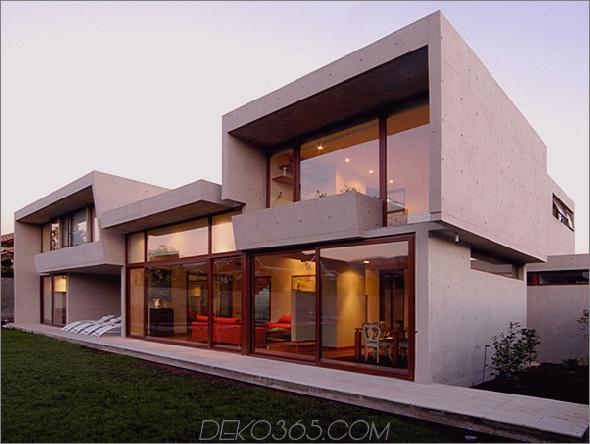 fleischmann ossa house 1 Betonhausarchitektur Dekoriert mit ... Sonnenlicht