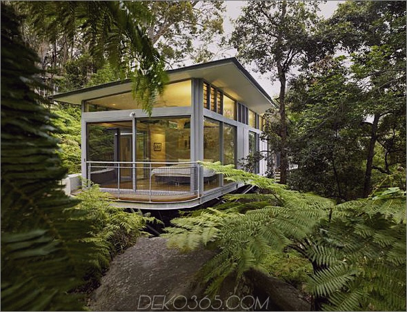 Church Point House 9 Hausarchitektur für Glas und Stahl - Zeitgenössisches Design in Sydney, Australien