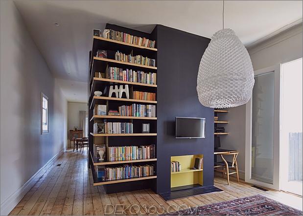 Hausrenovierung fügt ungewöhnliche Plattform und Regale hinzu_5c58b5e604e5f.jpg