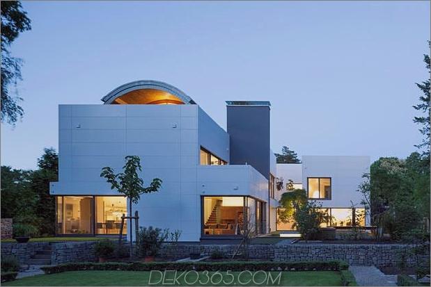 modernes Stadthaus mit Holzinnenstruktur 1 Abend weit thumb 630xauto 37633 HI MACS Haus mit Holzinnenstruktur