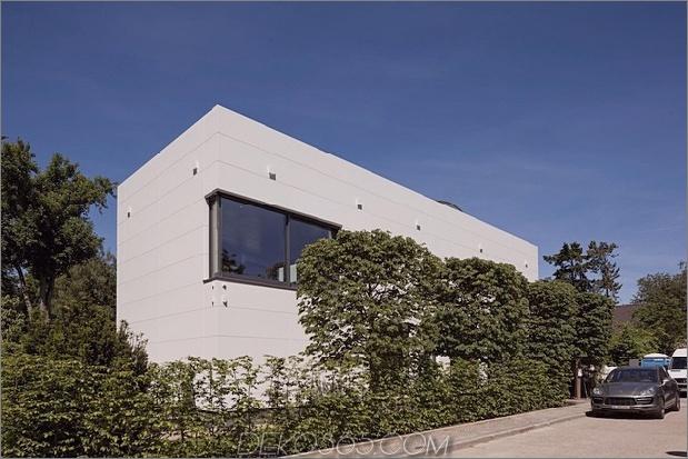 modernes Stadthaus mit Holzinnenstruktur 2 Straße weit thumb 630xauto 37635 HI MACS Haus mit Holzinnenstruktur