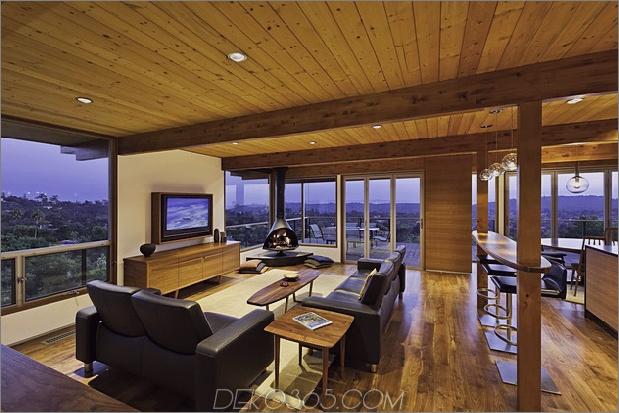 Haus am Hang eröffnete Pfostenstrahl-Verschönerung 1 sozialer Daumen 630xauto 39714 Haus am Hang eröffnet mit einem Pfosten- und Strahl-Makeover