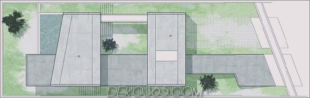 Hillside House mit 2 Betonvolumen, 2. Eingang, Brücke_5c59ad09b6f49.jpg