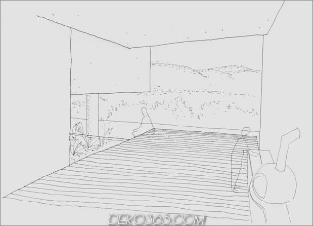 Hillside House mit 2 Betonvolumen, 2. Eingang, Brücke_5c59ad0a8f0aa.jpg