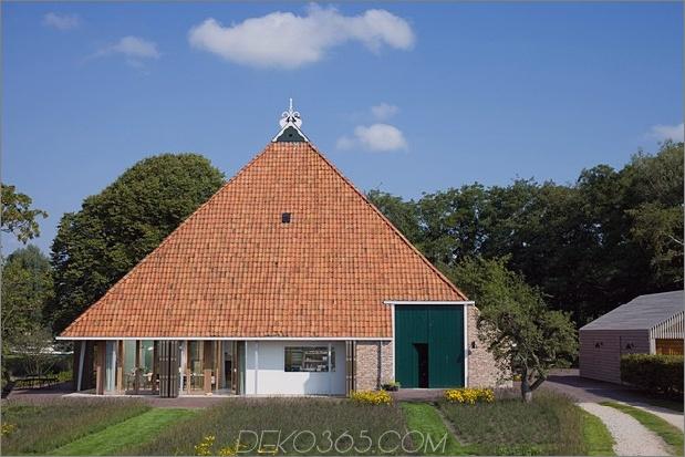 historische holländische Wirtschaftsgebäude verstecken moderne Häuser 1 Haupthaus offen thumb 630xauto 45715 Historisches holländisches Scheunenhäuschen - modernes Zuhause