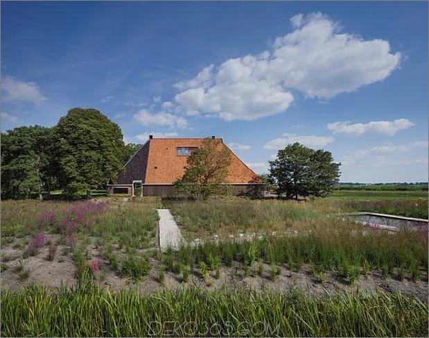 historische holländische Wirtschaftsgebäude verstecken moderne Häuser 2 weit geschlossen thumb 630xauto 45717 Historisches holländisches Scheunenhäuschen - modernes Zuhause