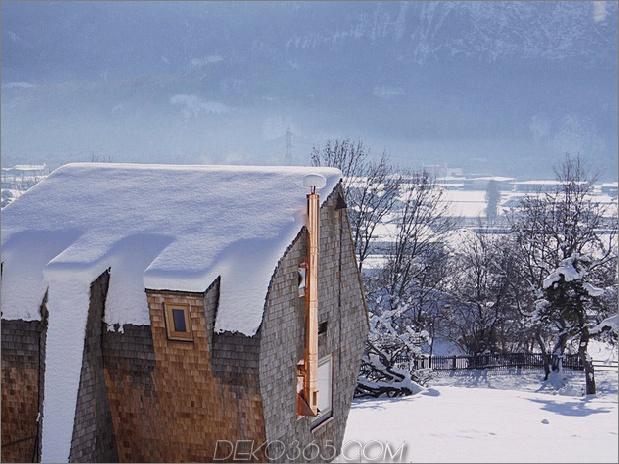 Österreichisches Berghaus mit Schuppen und abgeschrägten Wänden 2 thumb 630x472 29091 Österreichisches Berghaus mit Schuppen und abgeschrägten Wänden
