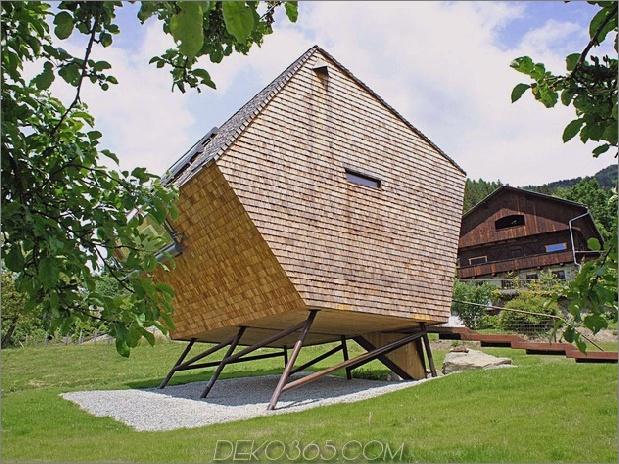 Holz-Schuppen-Österreich-Berghaus-Haus mit geneigten Wänden-22.jpg