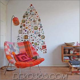 Moderne Holiday Interiors - 10 Alternativen zum Weihnachtsbaum