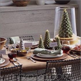 Vintage Weihnachtsdekorationen, die ein enormes Comeback machen