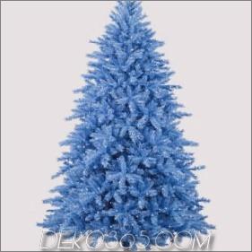 Ungewöhnliche Weihnachtsbaum-Farben, zum Ihres Feiertags zu erhellen