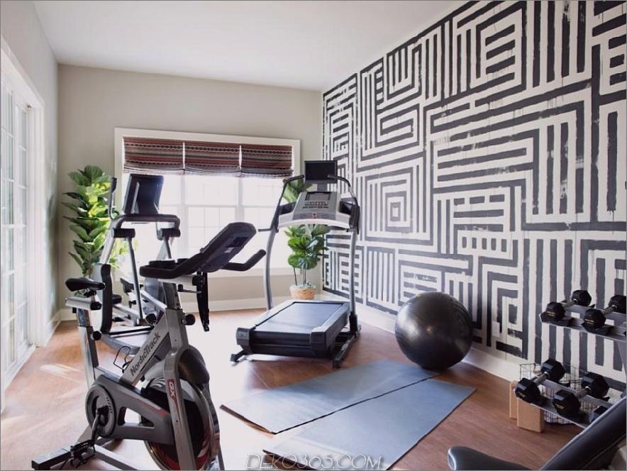 Home Gym Designs, die Sie zum Schwitzen bringen werden