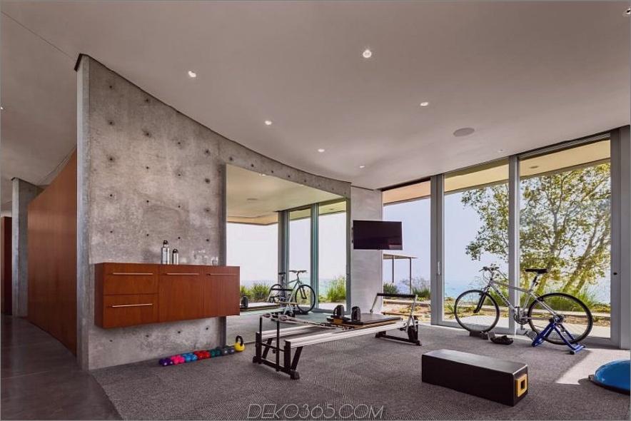 Offenes, geräumiges Fitnessstudio von NMA Architects