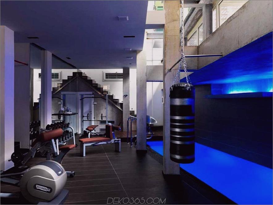 Cooles Fitnessstudio Design