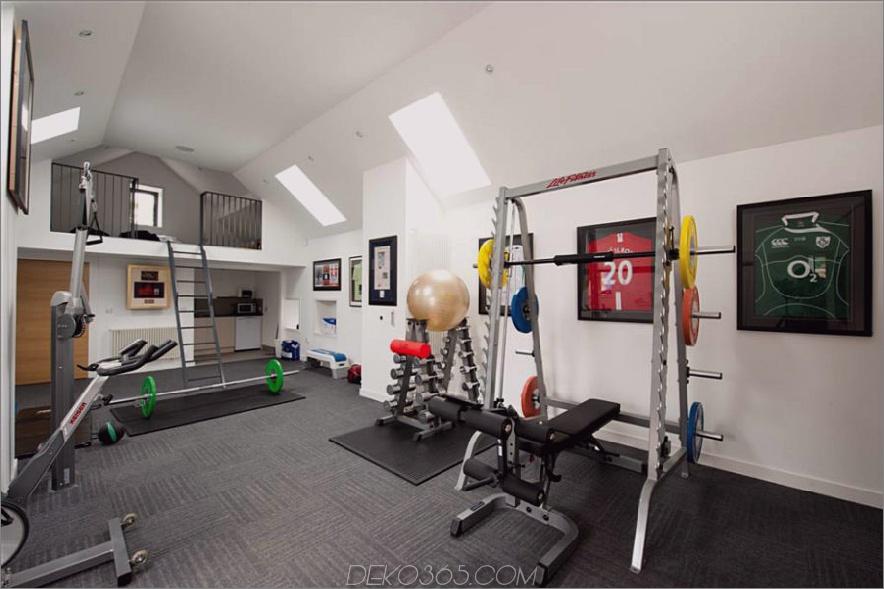 Loft-Fitnessstudio